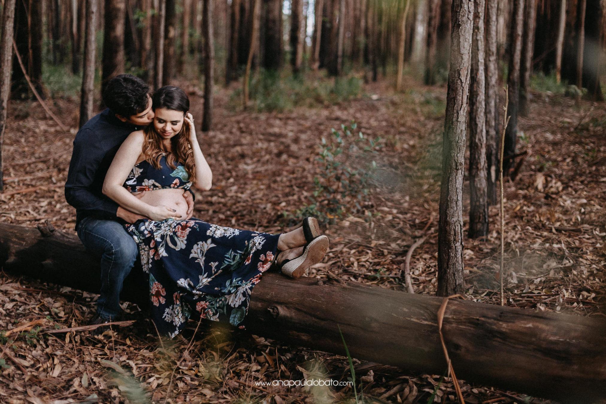 foto de gravida floresta