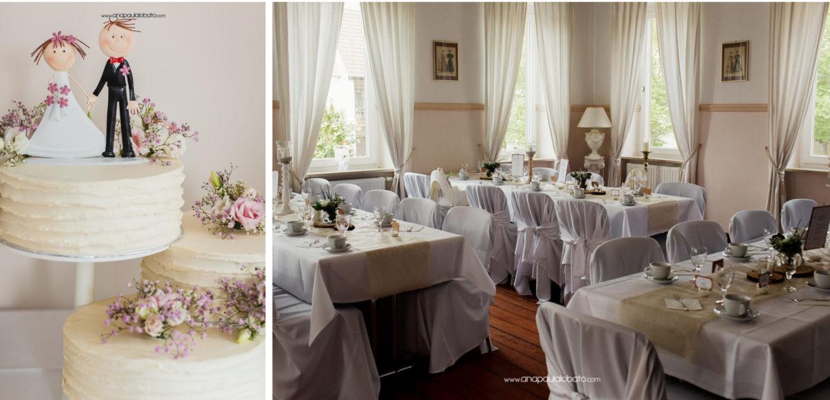 decoração minimalista de casamento