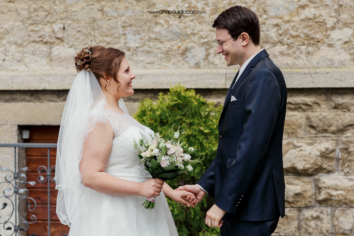 primeiro encontro dos noivos