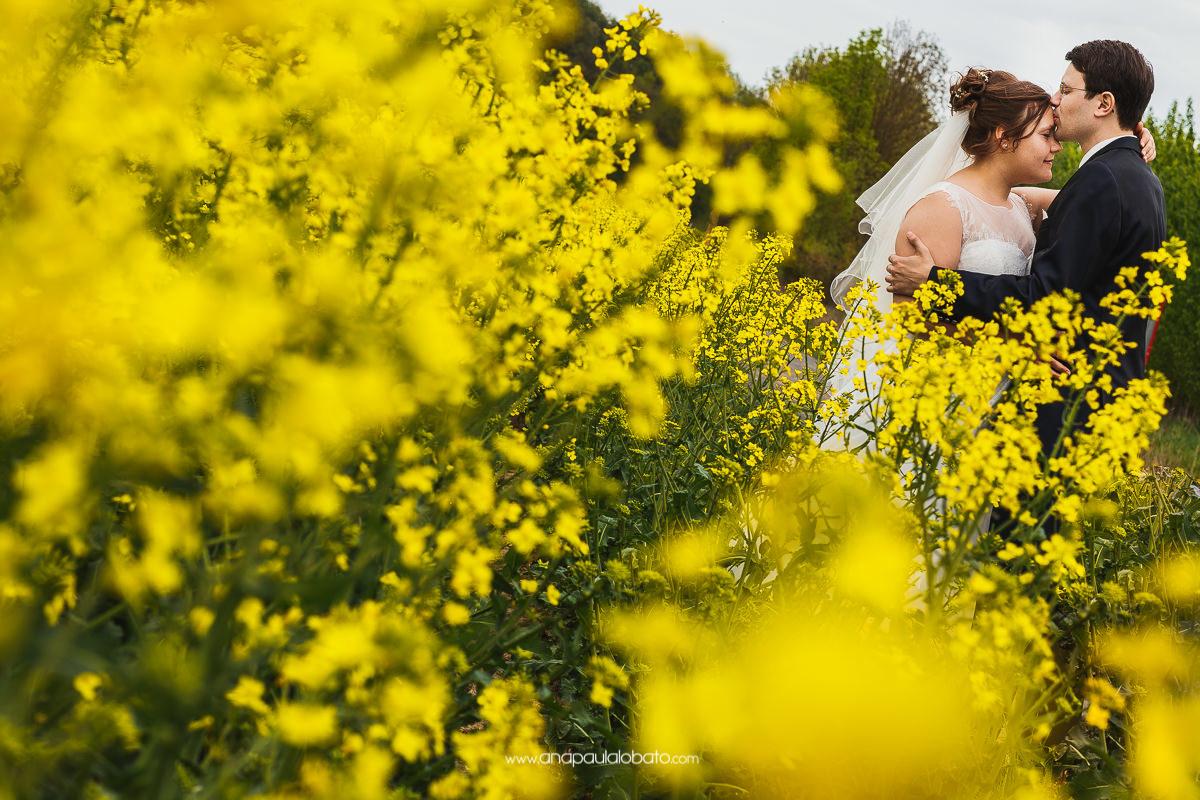 fotografia de casamento na primavera