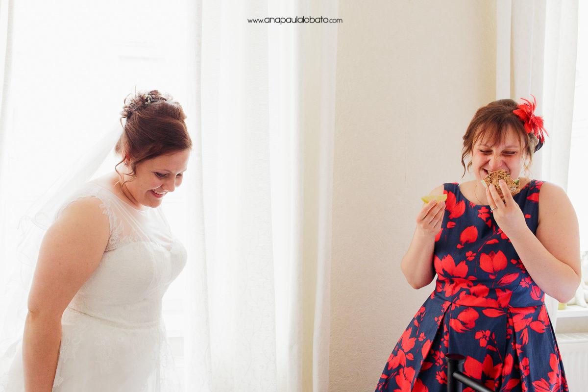 making of da noiva engraçado
