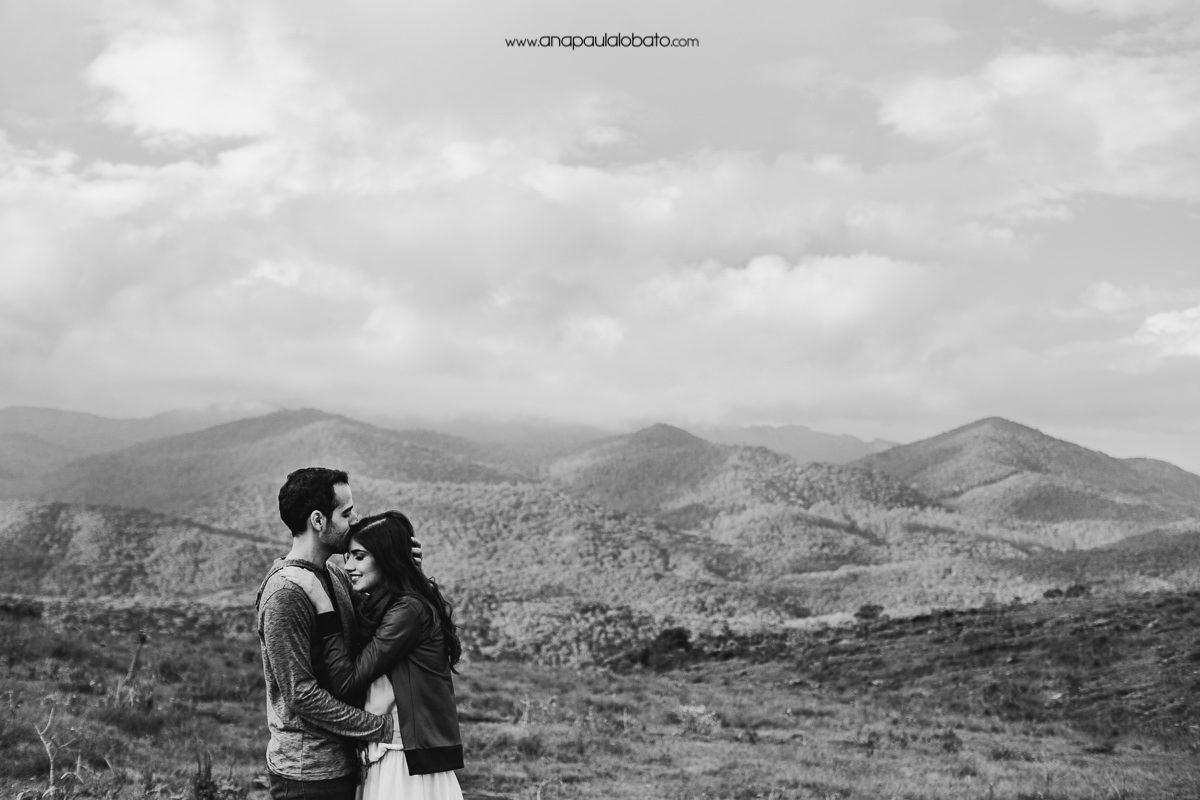 foto de casamento nas montanhas