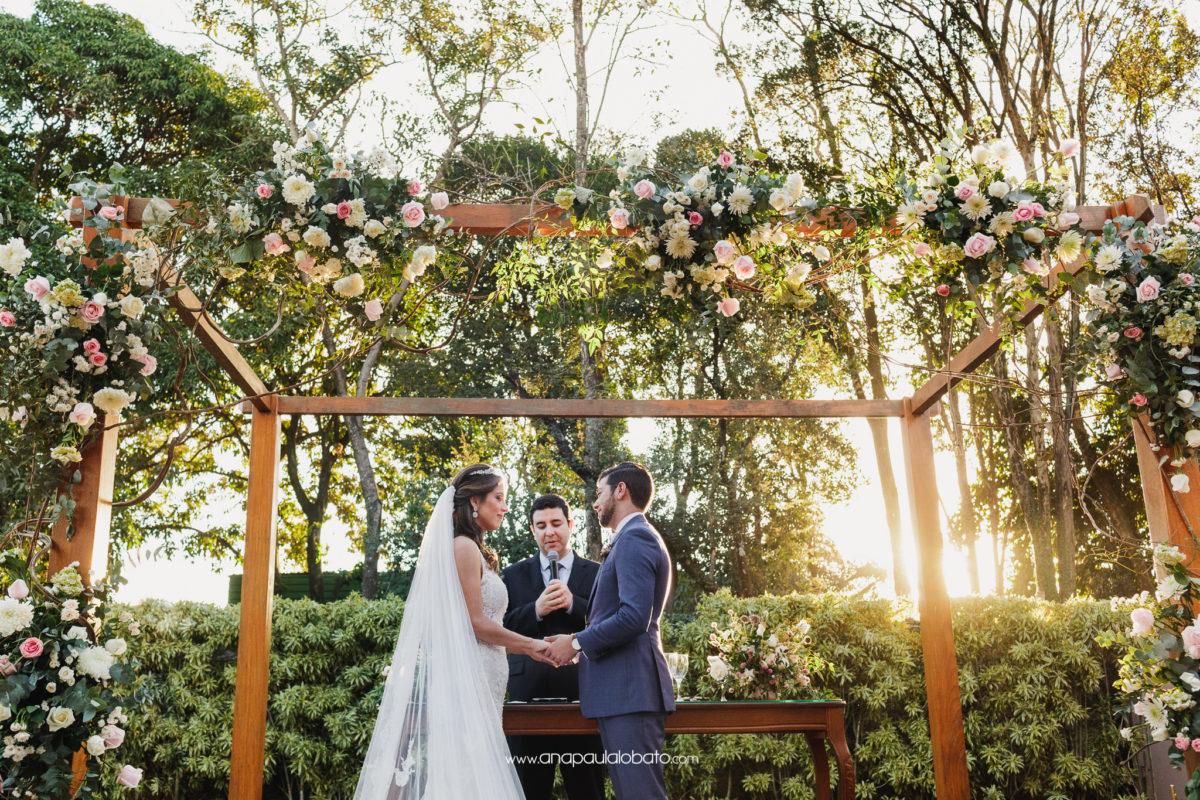 flores lindas na decoração de casamento