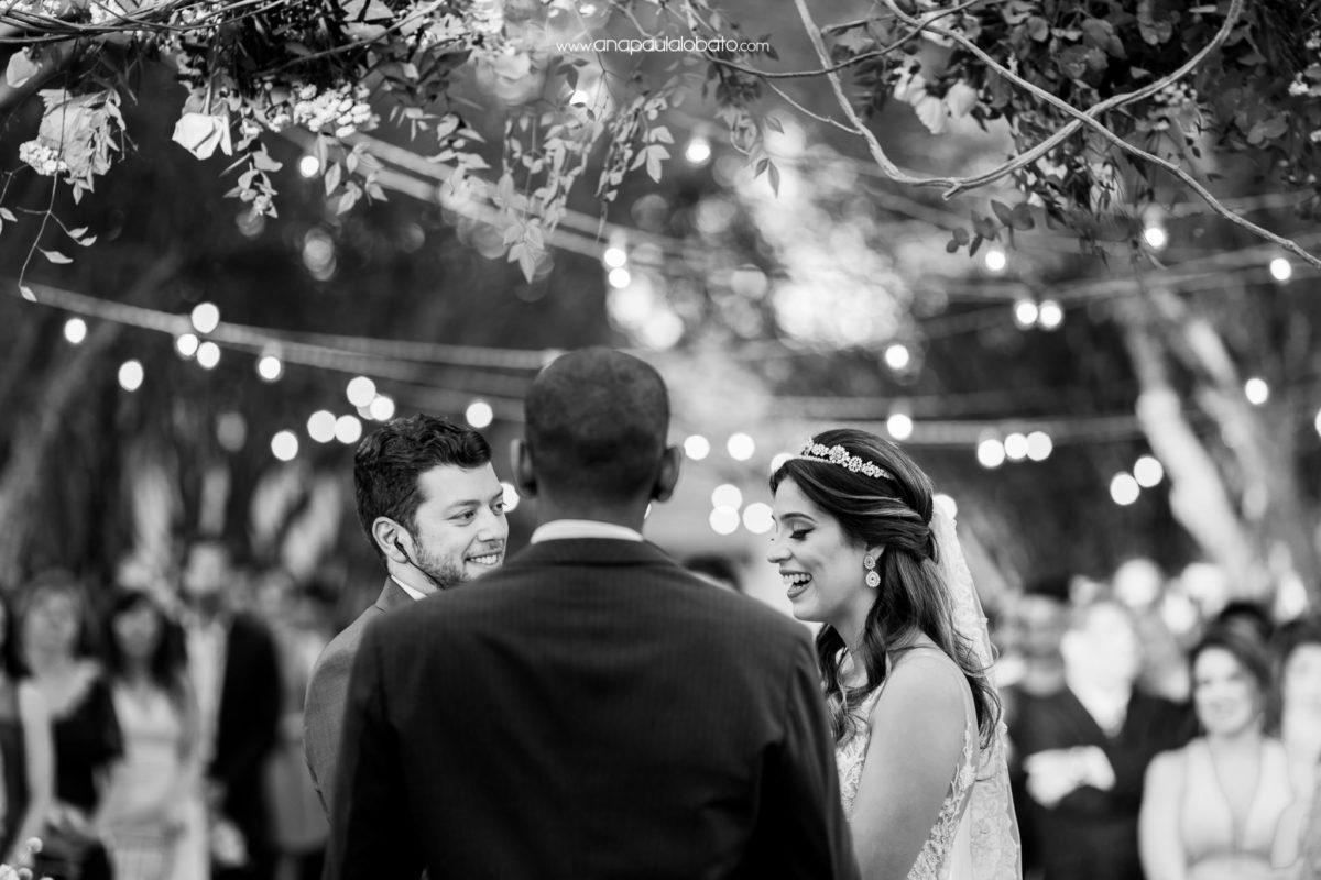 celebração de casamento de dia