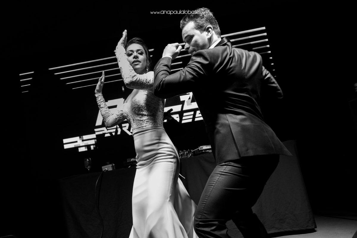 dança doida de casamento