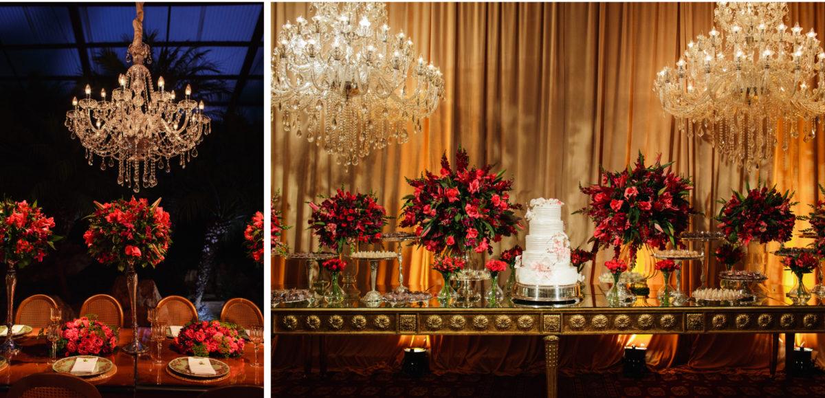 decoração romântica e moderna