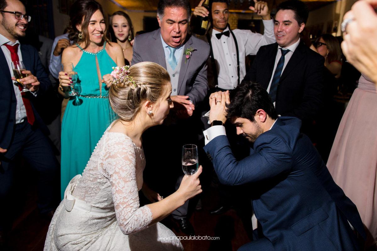 fotógrafo de casamento captura momento único