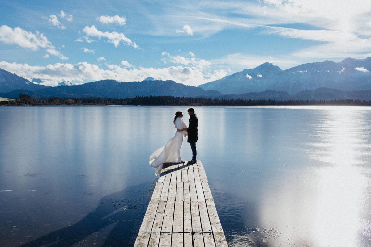 casamento no inverno na alemanha