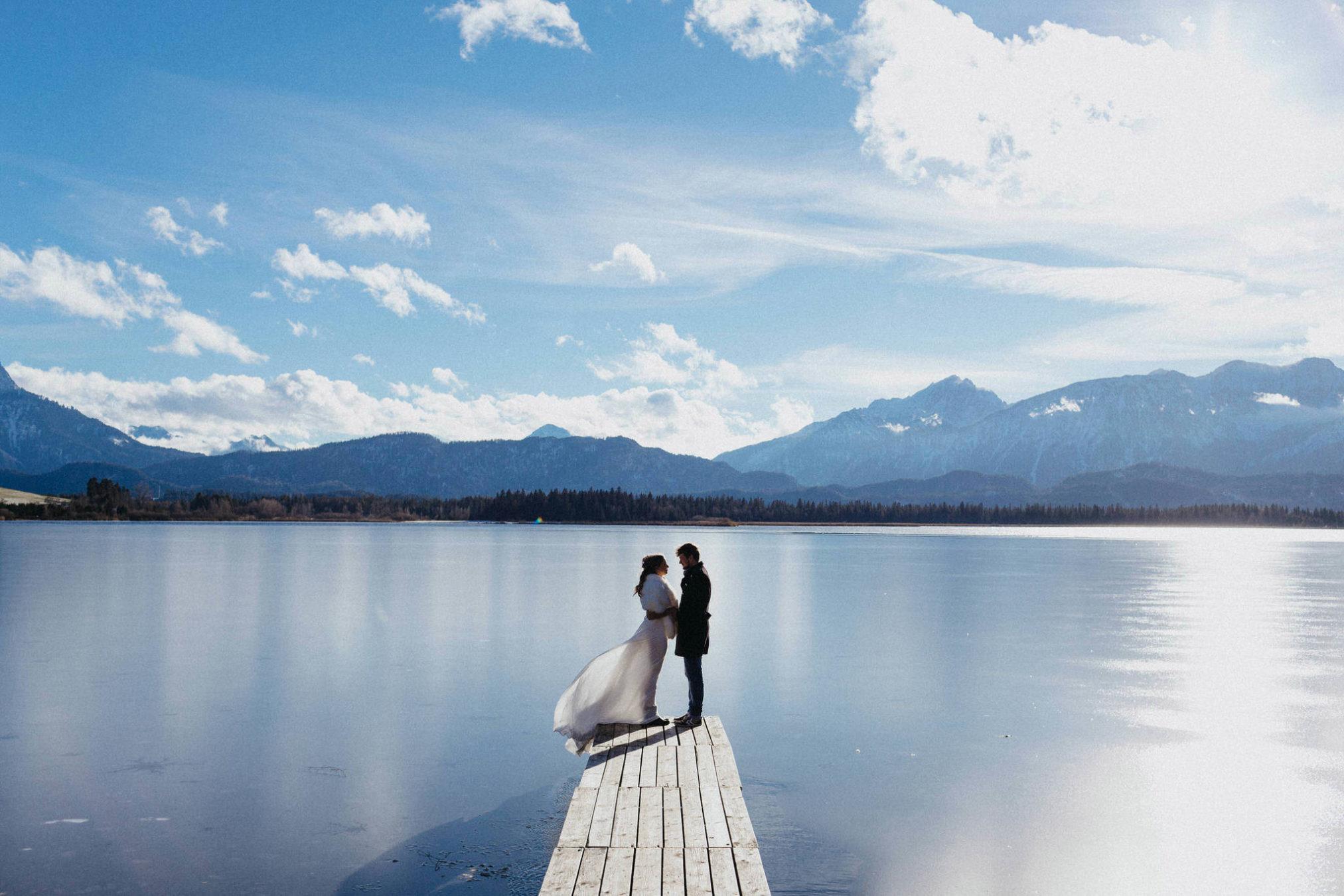 fotos de casamento no inverno