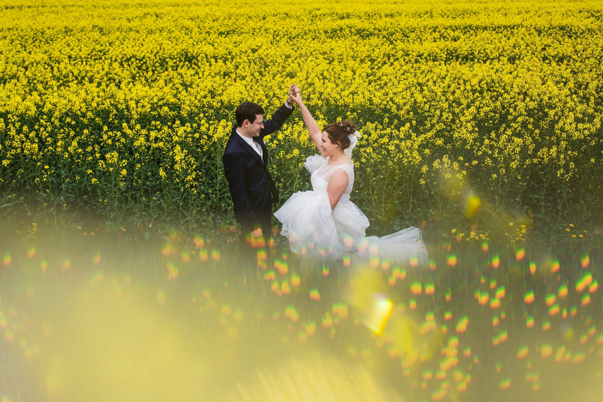 fotos de casamento na primavera