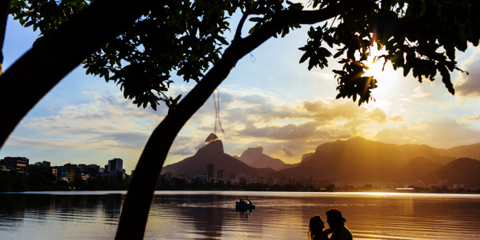 Ensaio de casal na praia   Rio de Janeiro - RJ