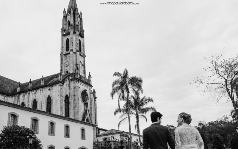 Destination Wedding no Santuário do Caraça