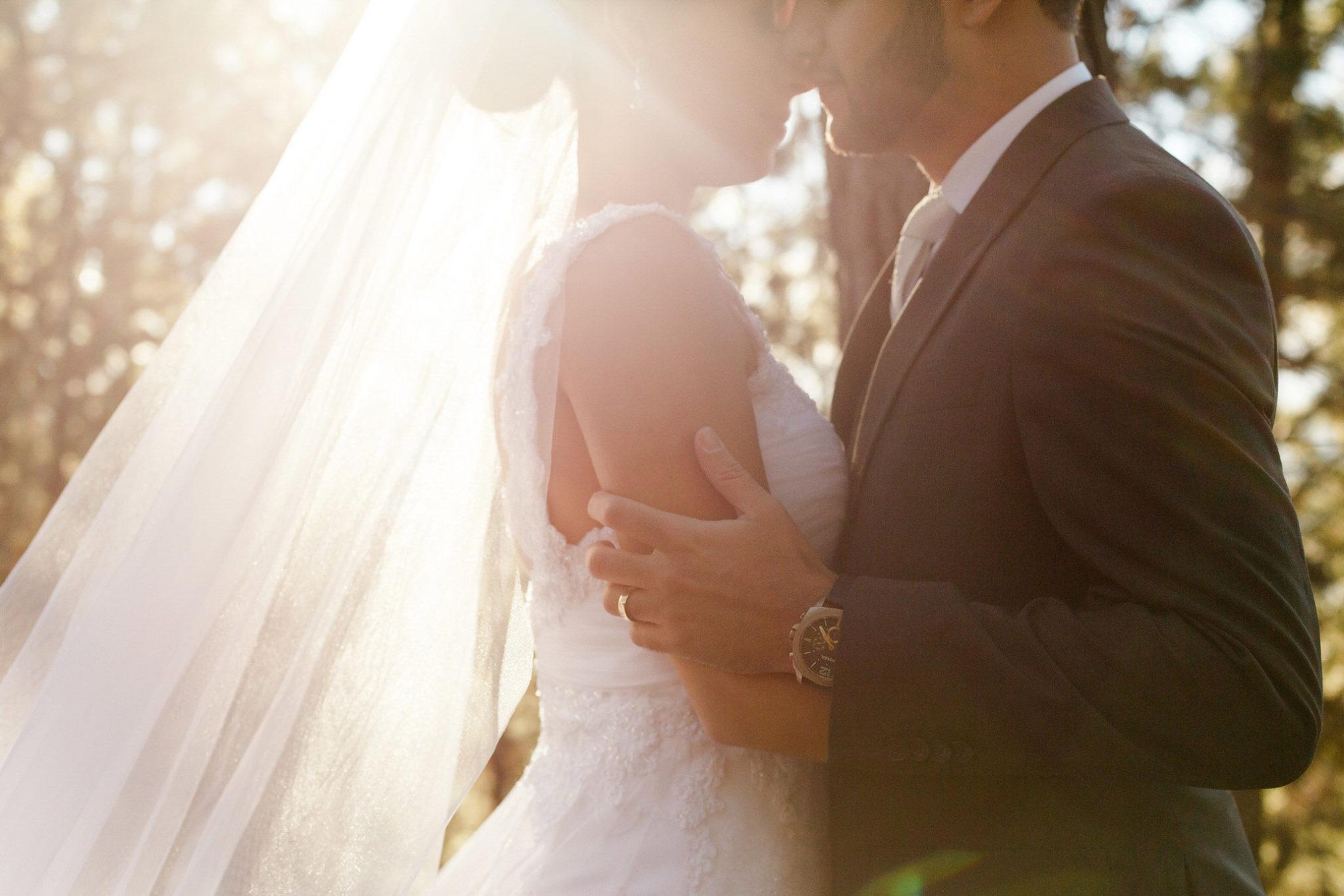 fotos de casamento romantico