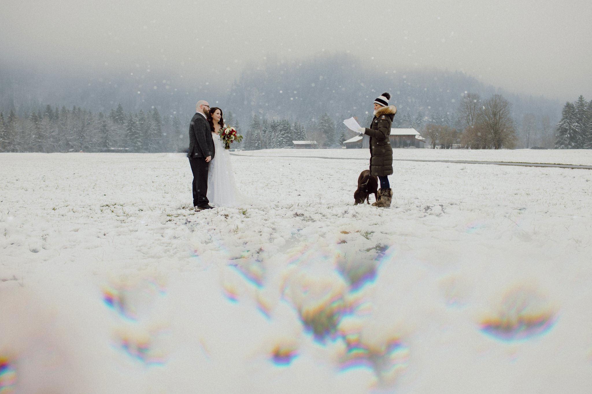 elopement no inverno