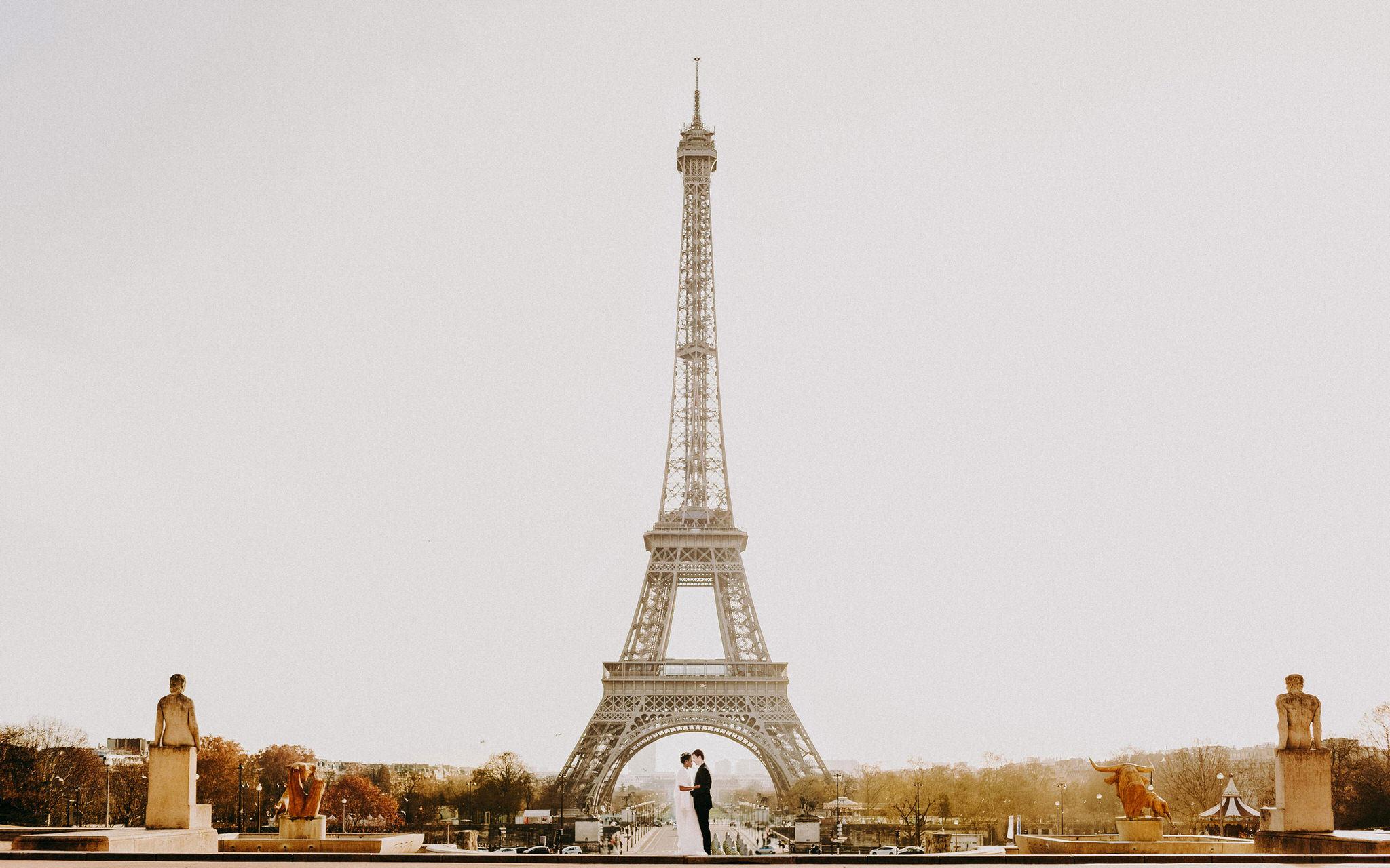 fotos de casal em paris